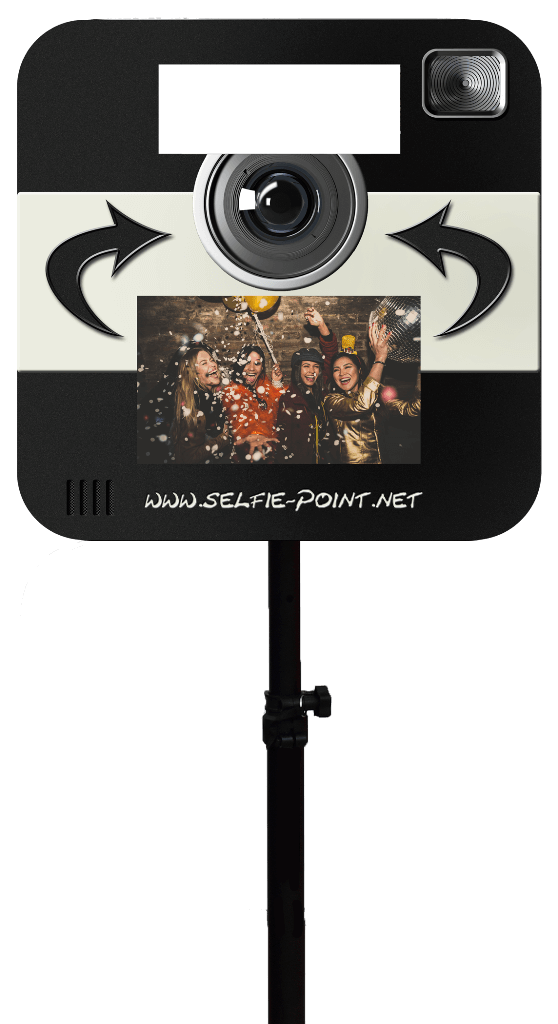 Selfie-Point Fotobox Stativ
